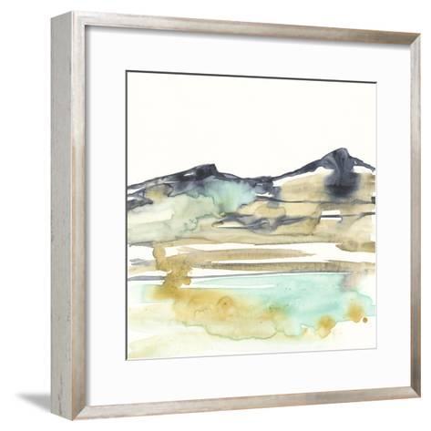 Mountains to Sea VI-Jennifer Goldberger-Framed Art Print