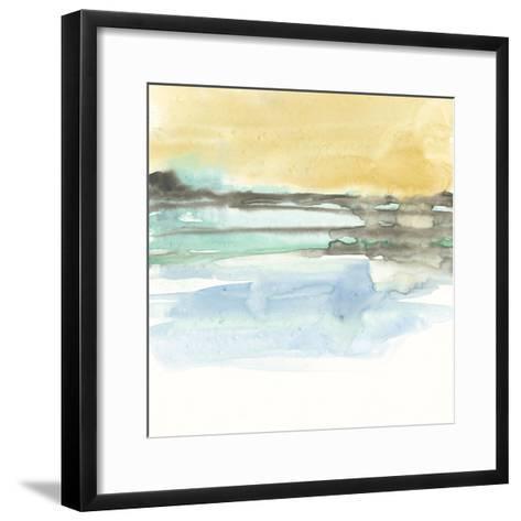 Mountains to Sea IX-Jennifer Goldberger-Framed Art Print