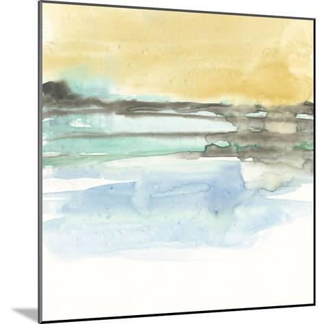 Mountains to Sea IX-Jennifer Goldberger-Mounted Premium Giclee Print