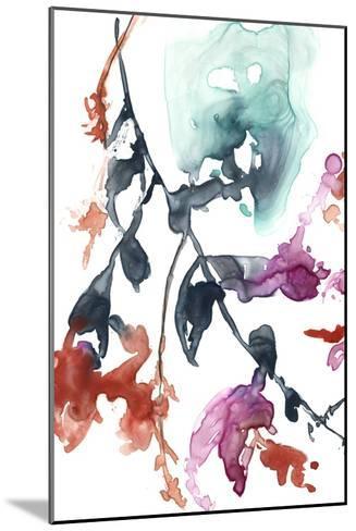 Hanging Fuchsia I-Jennifer Goldberger-Mounted Premium Giclee Print