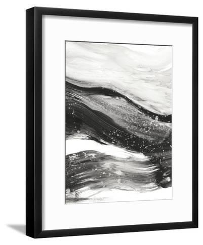 Black Waves I-Ethan Harper-Framed Art Print