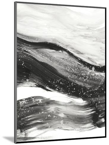 Black Waves I-Ethan Harper-Mounted Premium Giclee Print