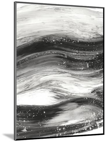 Black Waves II-Ethan Harper-Mounted Premium Giclee Print