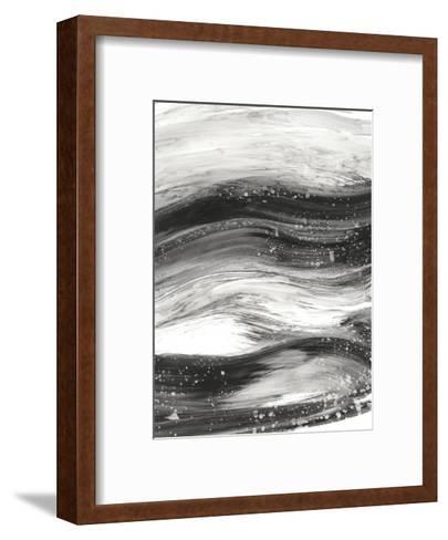 Black Waves II-Ethan Harper-Framed Art Print