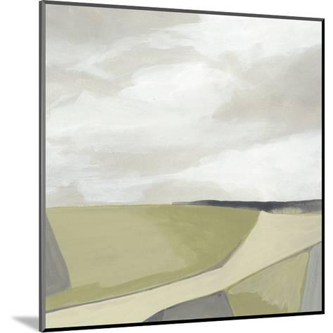 Far Fields I-June Vess-Mounted Premium Giclee Print