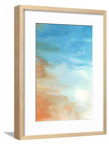 Neptune Sky II-Vanna Lam-Framed Art Print