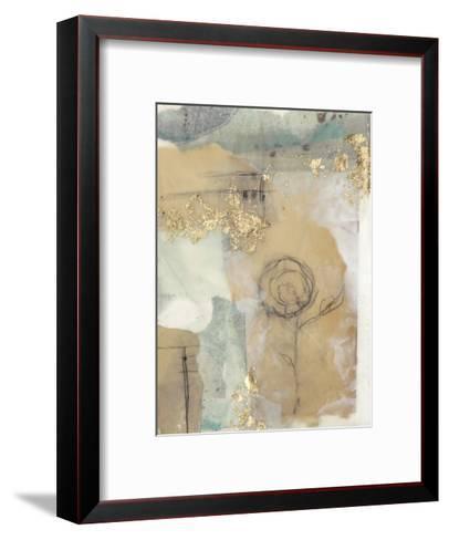 Posy Collage I-Jennifer Goldberger-Framed Art Print