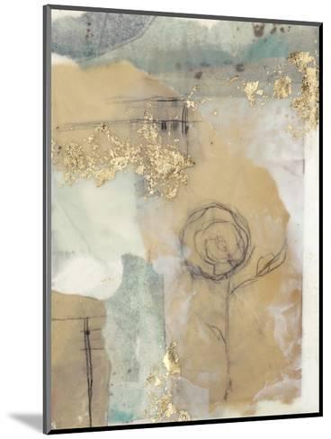 Posy Collage I-Jennifer Goldberger-Mounted Premium Giclee Print