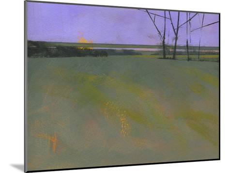 Millfields-Paul Bailey-Mounted Premium Giclee Print