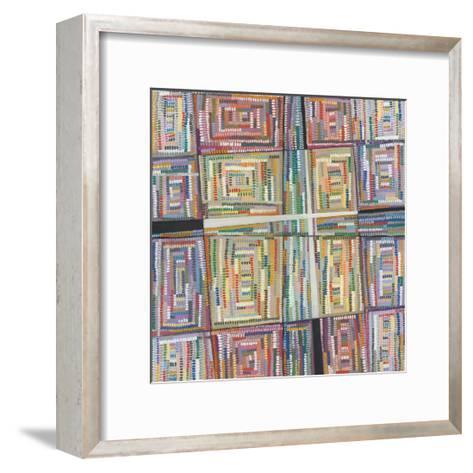 Dot Pattern-Nikki Galapon-Framed Art Print