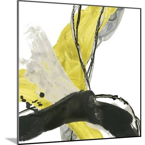 Citron Flux III-June Vess-Mounted Premium Giclee Print