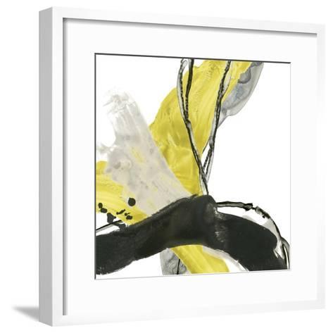 Citron Flux III-June Vess-Framed Art Print