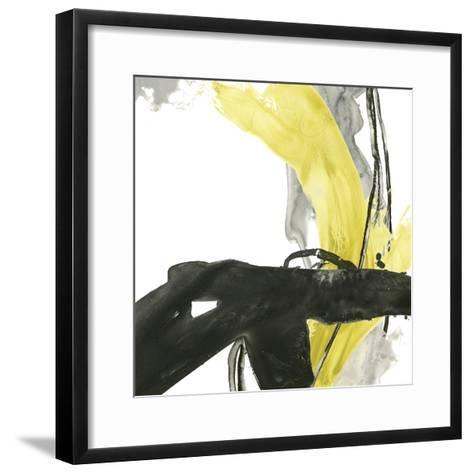 Citron Flux IV-June Vess-Framed Art Print