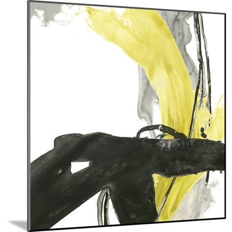 Citron Flux IV-June Vess-Mounted Premium Giclee Print