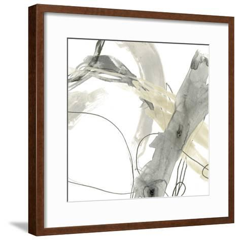 Monochrome Momentum III-June Vess-Framed Art Print