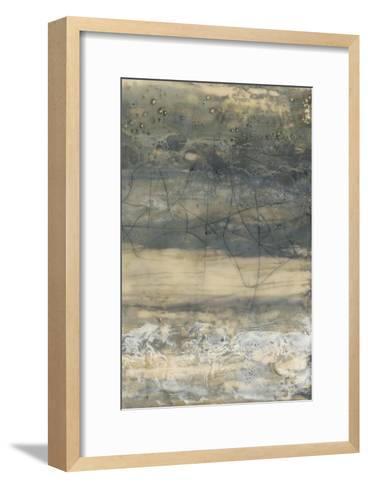 Earthen Lines II-Jennifer Goldberger-Framed Art Print