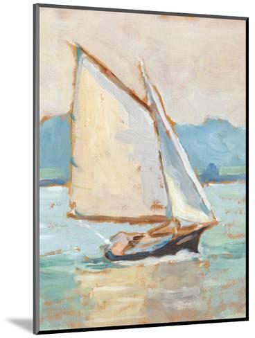 Contemporary Yacht II-Ethan Harper-Mounted Premium Giclee Print