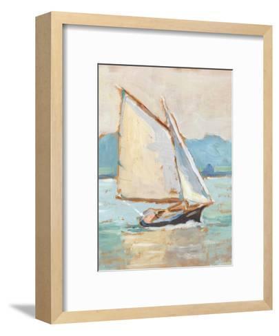 Contemporary Yacht II-Ethan Harper-Framed Art Print