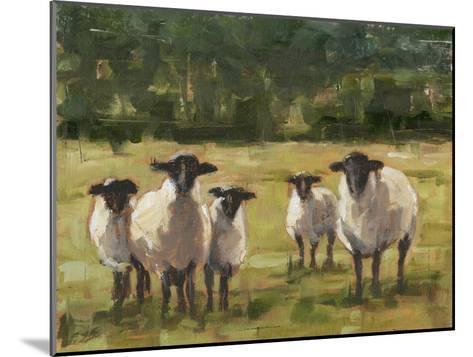 Sheep Family I-Ethan Harper-Mounted Premium Giclee Print