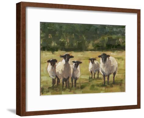 Sheep Family I-Ethan Harper-Framed Art Print