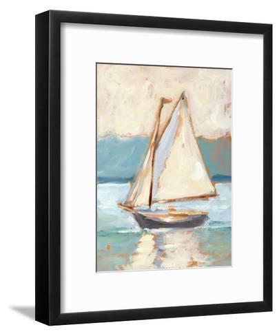 Contemporary Yacht I-Ethan Harper-Framed Art Print