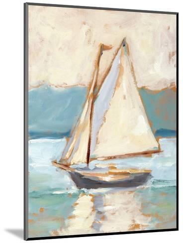 Contemporary Yacht I-Ethan Harper-Mounted Premium Giclee Print