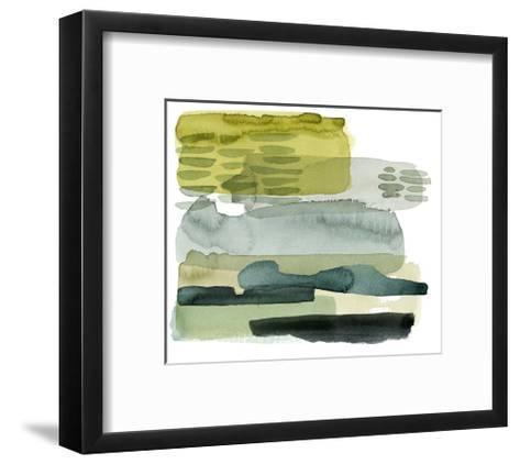 Verdant Stratum II-Grace Popp-Framed Art Print