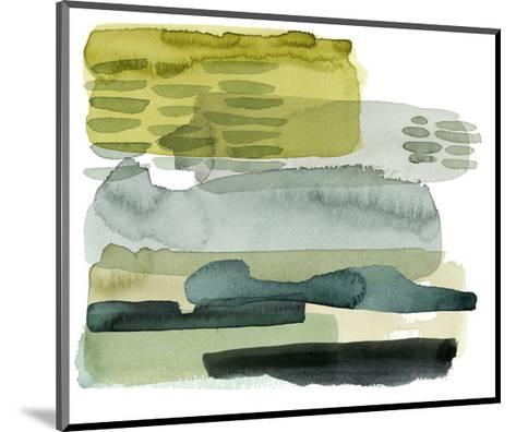 Verdant Stratum II-Grace Popp-Mounted Premium Giclee Print