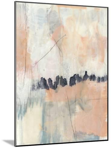 Blush & Navy II-Jennifer Goldberger-Mounted Premium Giclee Print