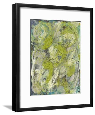 Citron Circuit I-J^ Holland-Framed Art Print