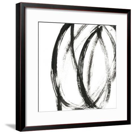 Linear Expression IX-J^ Holland-Framed Art Print
