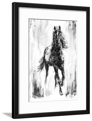 Rustic Stallion I-Ethan Harper-Framed Art Print