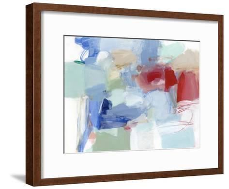 Roundabout II-Christina Long-Framed Art Print