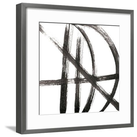 Linear Expression VIII-J^ Holland-Framed Art Print