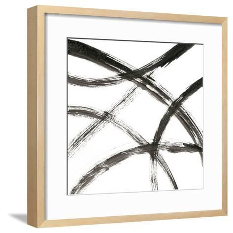Linear Expression VII-J^ Holland-Framed Art Print