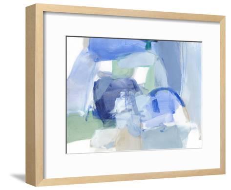 Blue Formation II-Christina Long-Framed Art Print
