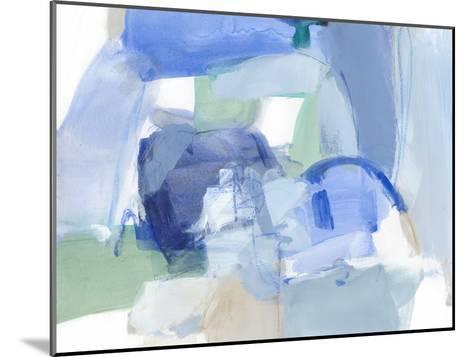 Blue Formation II-Christina Long-Mounted Premium Giclee Print