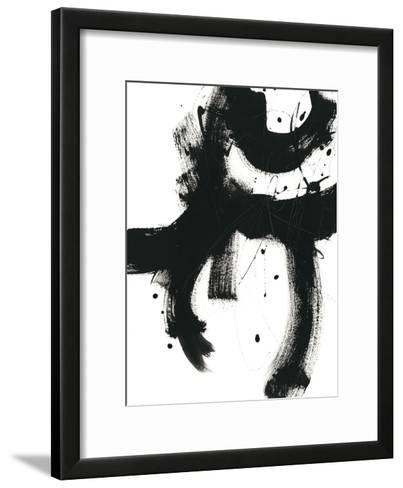 Onyx Gesture I-June Vess-Framed Art Print