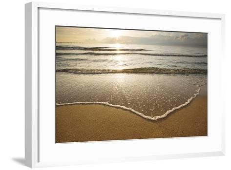 First Landing-Sea I-Adam Mead-Framed Art Print