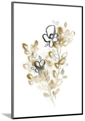 Bronze Bouquet III-June Vess-Mounted Premium Giclee Print