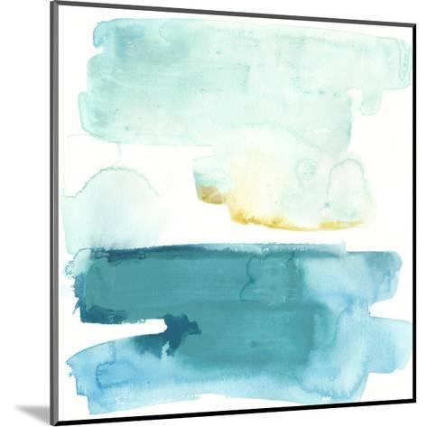 Liquid Shoreline VII-June Vess-Mounted Premium Giclee Print