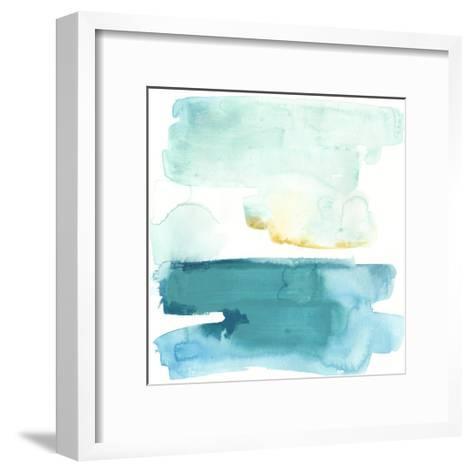 Liquid Shoreline VII-June Vess-Framed Art Print
