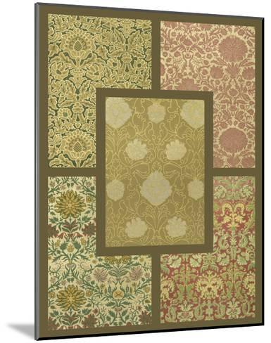Textile Detail II-Vision Studio-Mounted Art Print