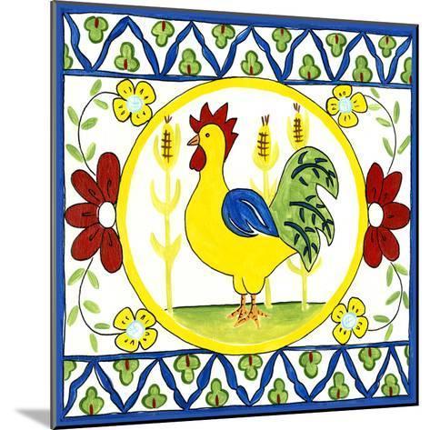 Rustic Tile V-Chariklia Zarris-Mounted Art Print