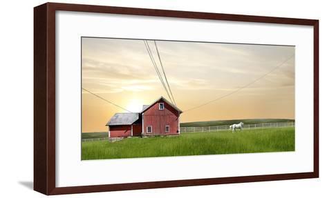 Farm & Country IV-James McLoughlin-Framed Art Print