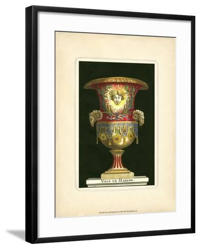 Vase with Sunflowers- THOMASSIN-Framed Art Print