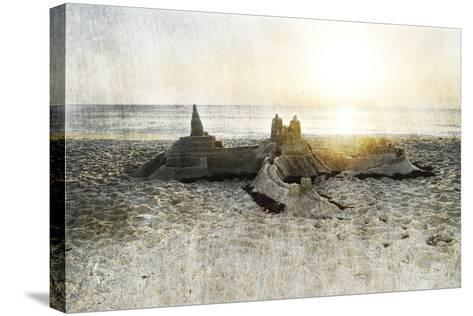 Sand Castle I-Sharon Chandler-Stretched Canvas Print