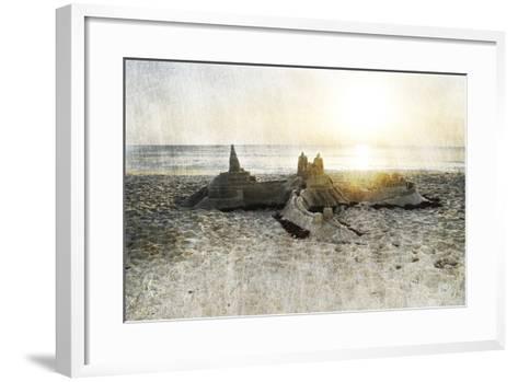 Sand Castle I-Sharon Chandler-Framed Art Print