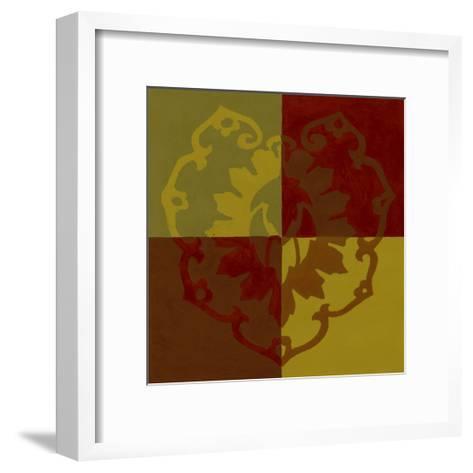 Block Print II--Framed Art Print