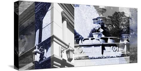 Architecture Collage II-Sisa Jasper-Stretched Canvas Print